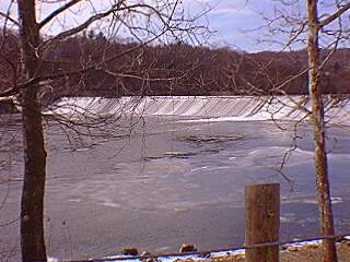 The Ousatonic Dam between Derby & Shelton